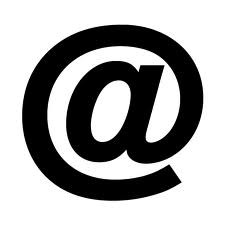 logo of the email (at) sign